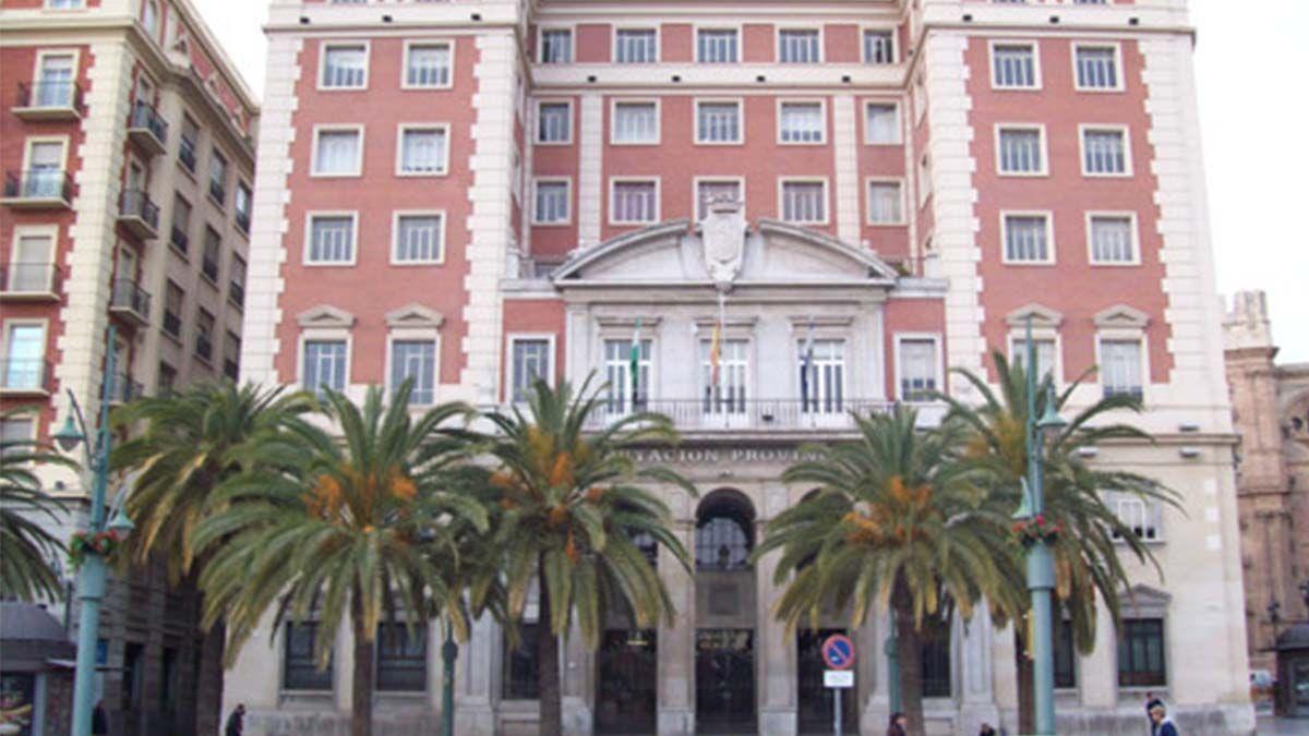 Antigua sede de la Diputación de Málaga