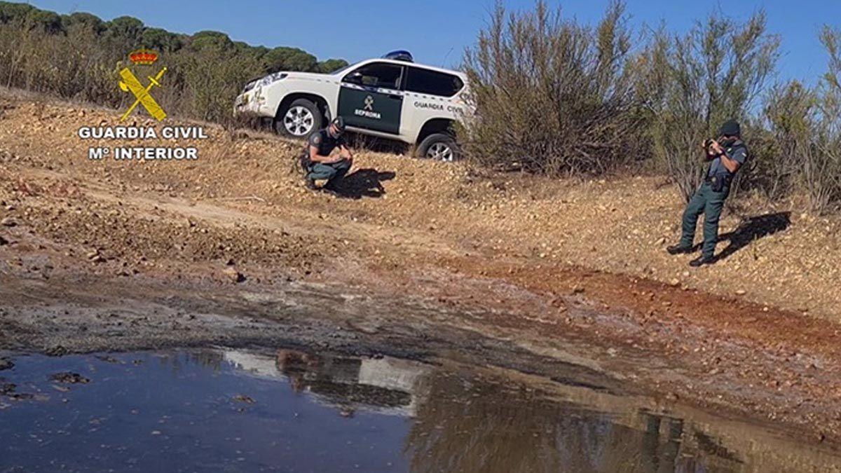 Guardia Civil Doñana pozos