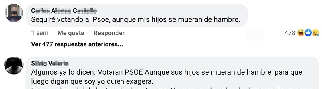 votante del PSOE