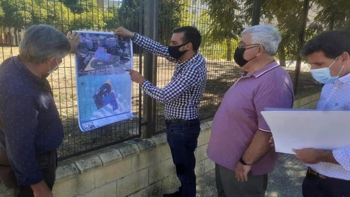 Torresblancas aparcamientos pista José Antonio Díaz proyecto