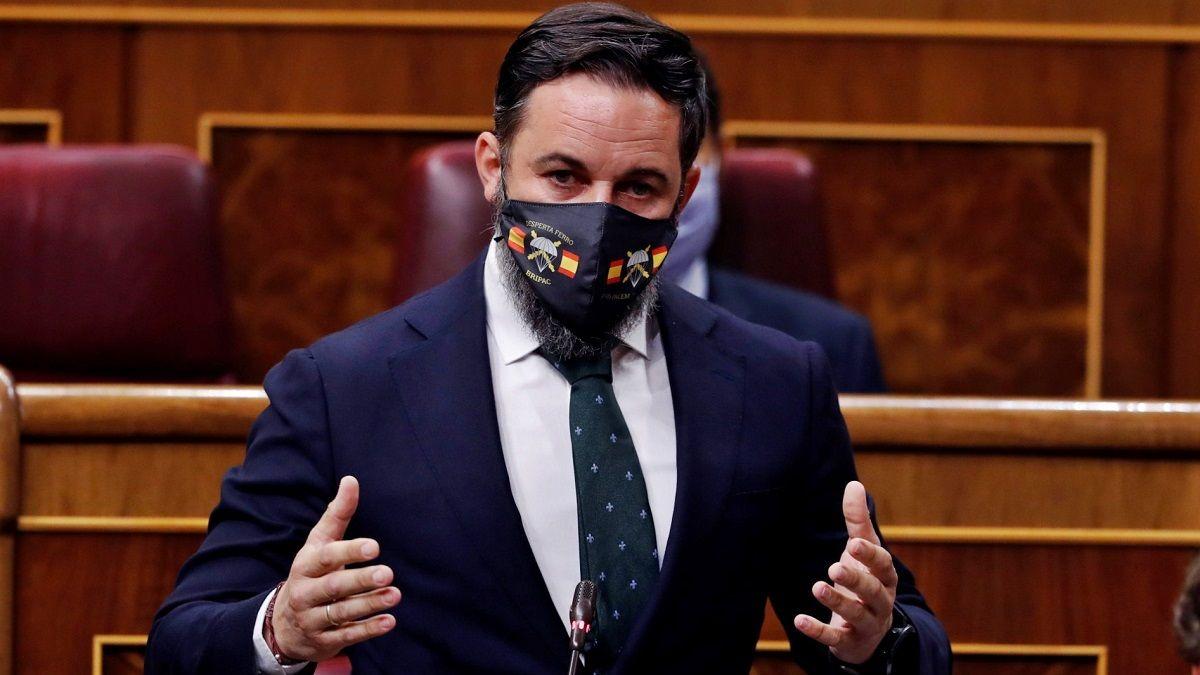 Santiago Abascal moción de censura