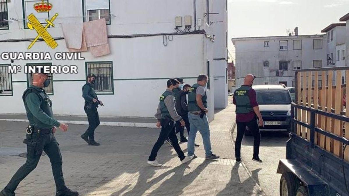 Guardia Civil narcotráfico Barbate
