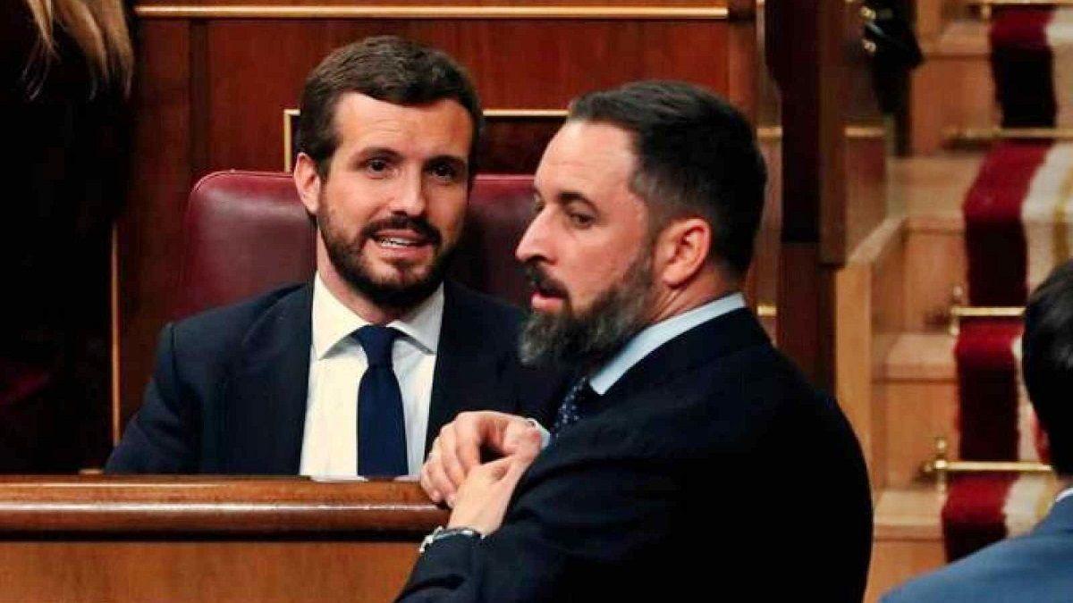 Abascal PP Vox gobiernos coalición