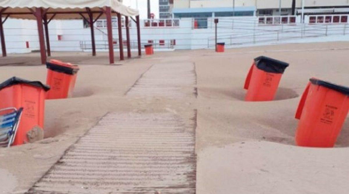 materiales playas Cádiz