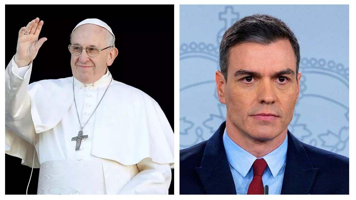 Sánchez Papa Vaticano