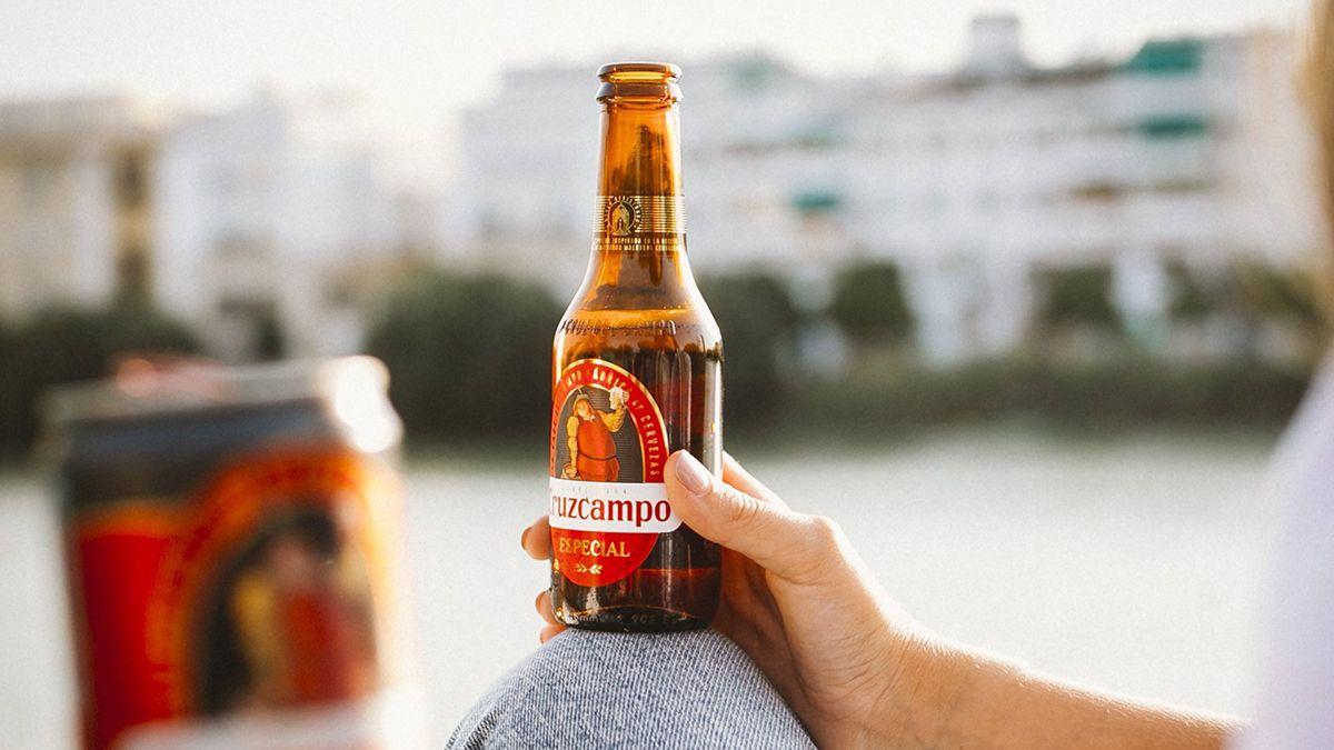 Cruzcampo valiosa España cerveza