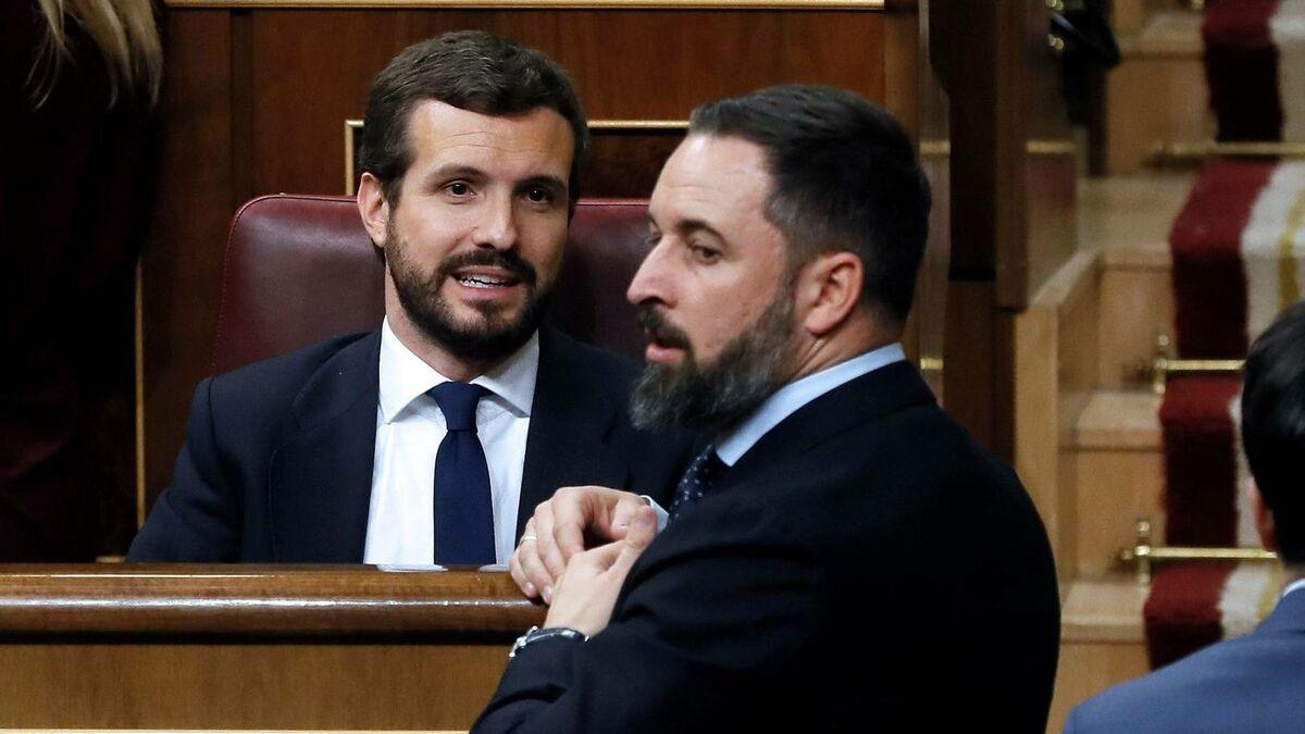 Casado PSOE Vox