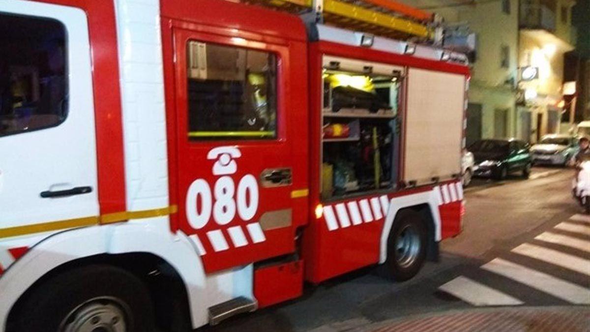 bomberos autobuses camión