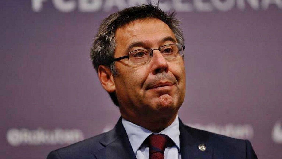 Bartomeu dimite como presidente del FC Barcelona