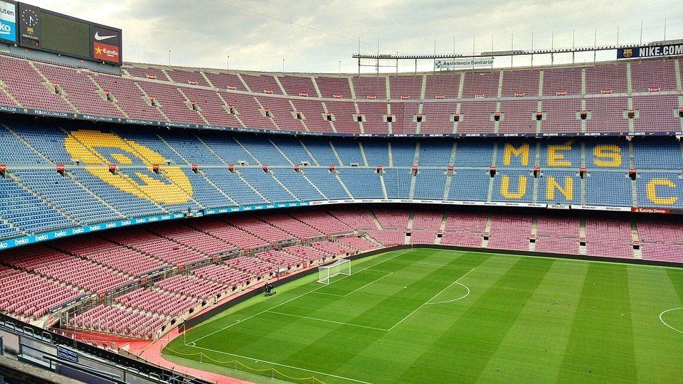 Camp Nou Barcelona FC Barça clásico