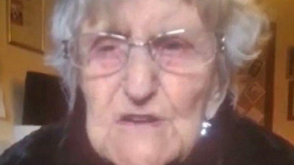Mary Fowler anciana pide ver a su familia
