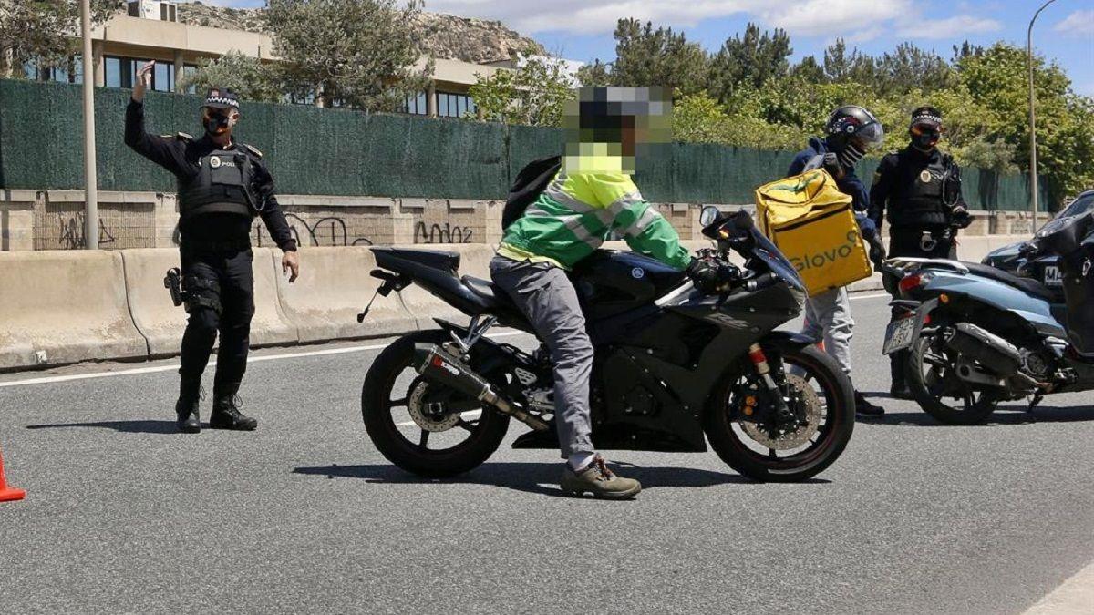 Toque de queda Málaga multas