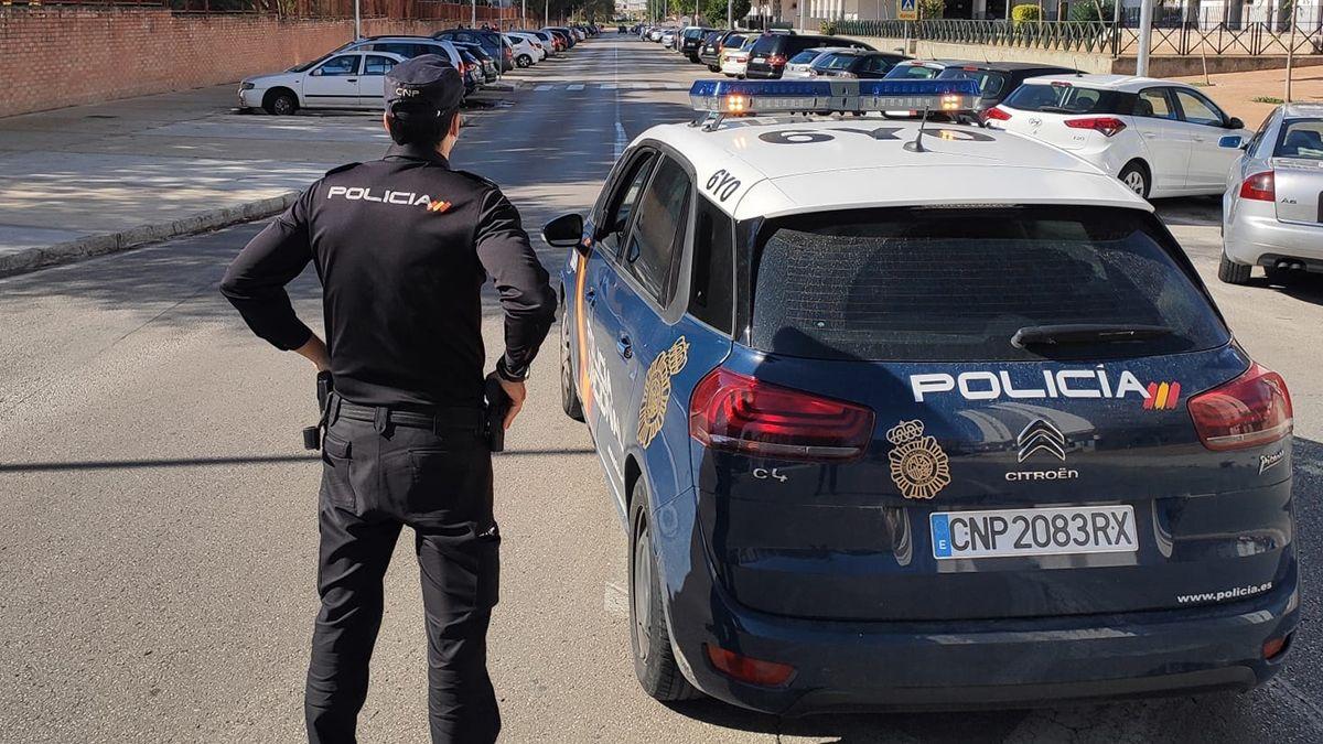 Policía Nacional polígono san benito en Jerez