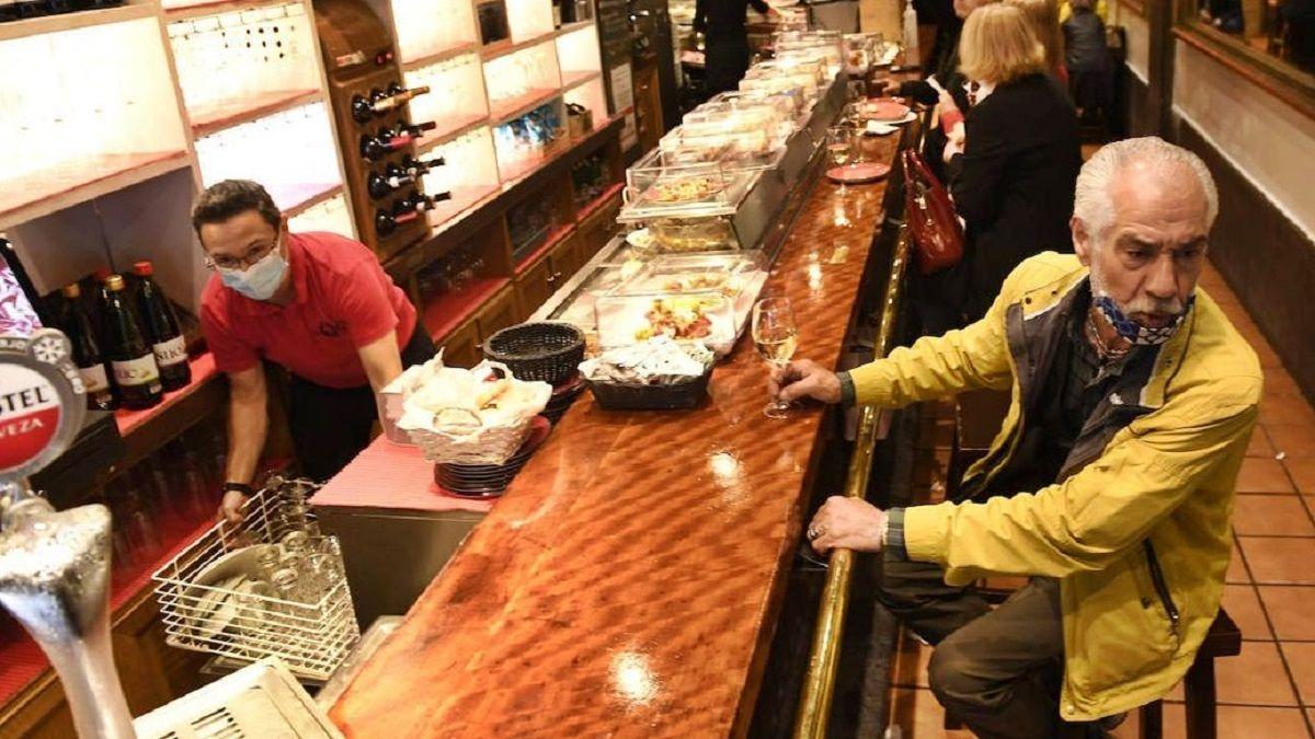 Andalucía barra bar Coronavirus