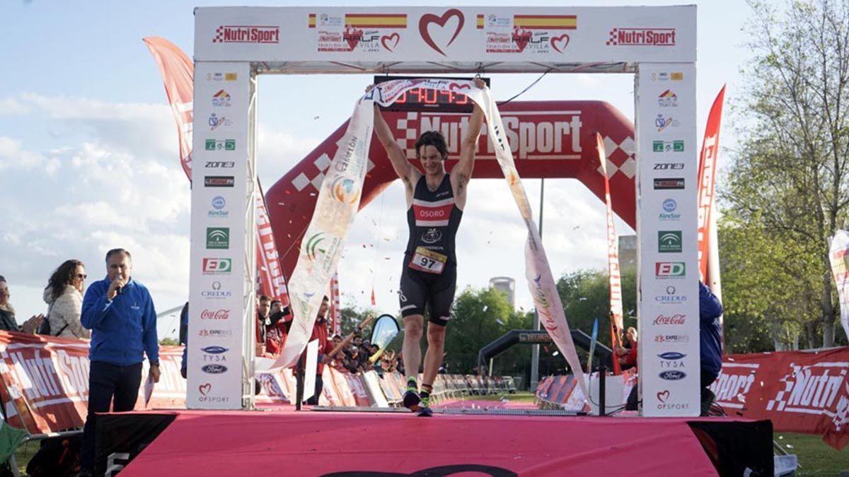 Medio triatlón en Sevilla