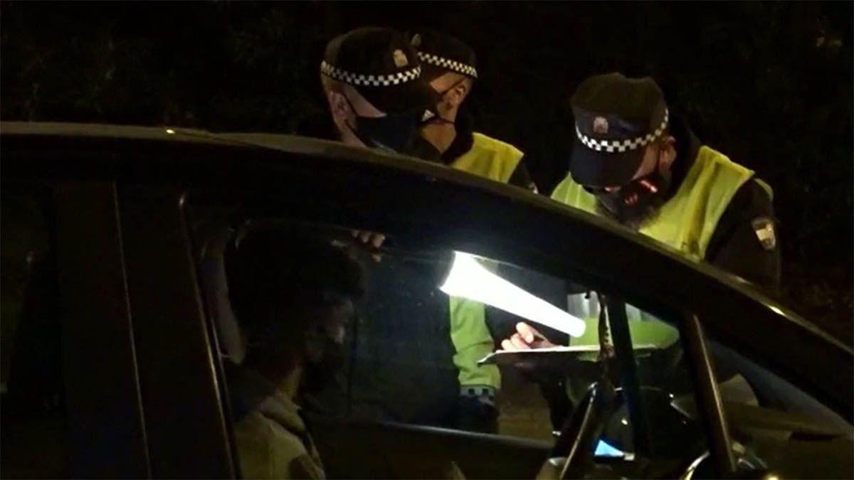 Policía Local drogado bebido coche Algeciras vehículos