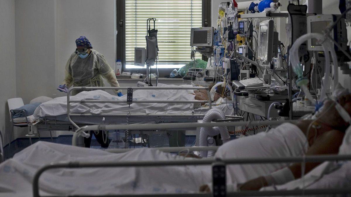 Hospitalizados Coronavirus en Andalucía Italia