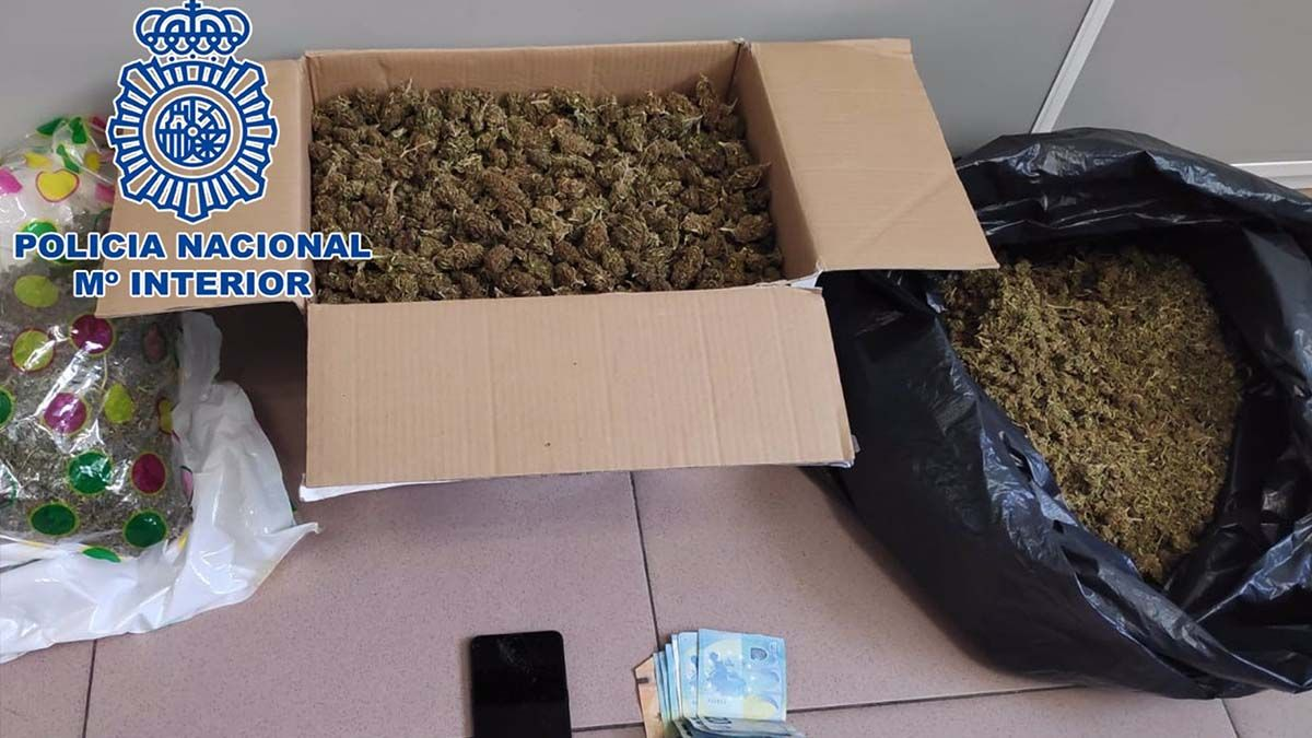 Pillados con marihuana Almería