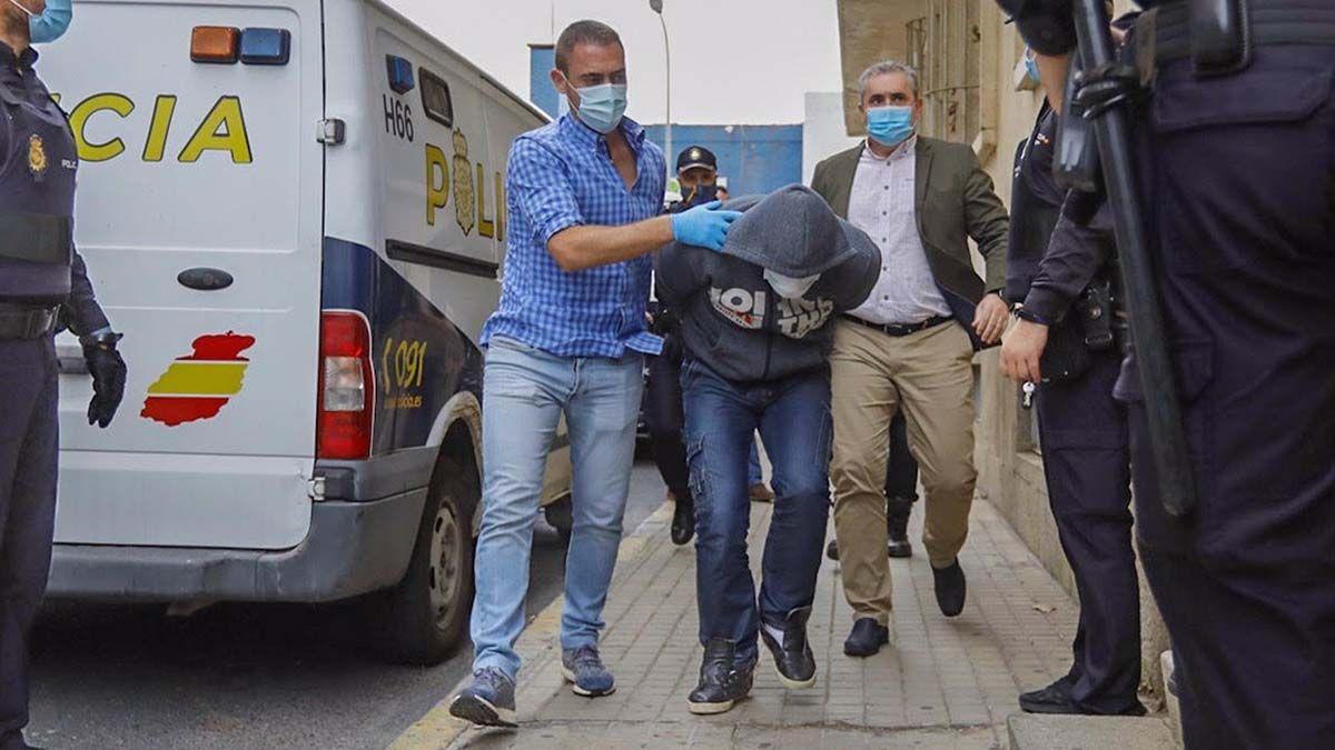 Supuesto asesino del hombre decapitado en Huelva