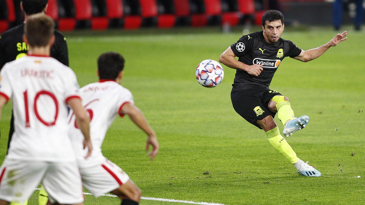 Gol Suleymanov Krasnodar Sevilla FC