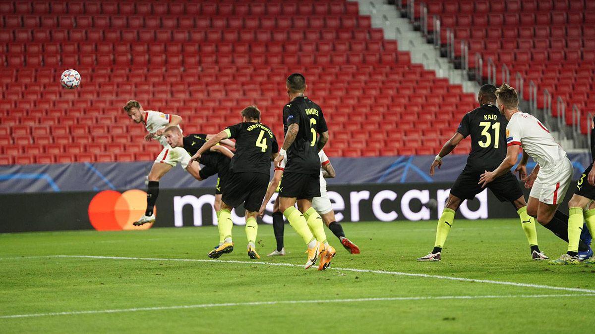 Gol de Ivan Rakitic en el Sevilla-Krasnodar