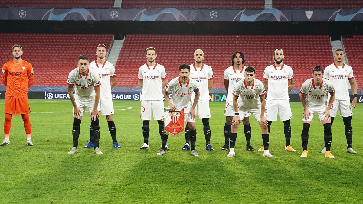 XI inicial Sevilla FC-Krasnodar