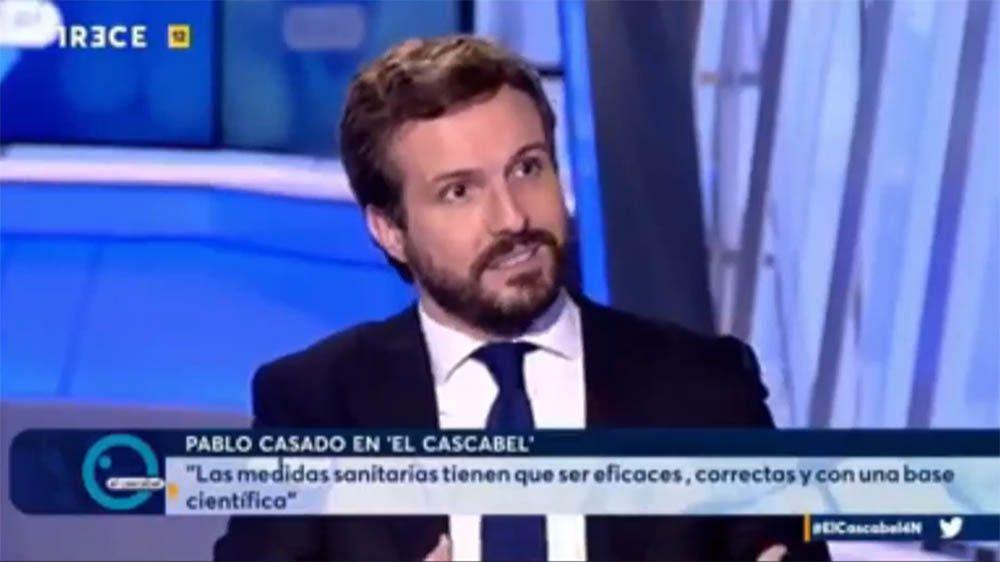Pablo Casado en El Cascabel Córdoba Trece