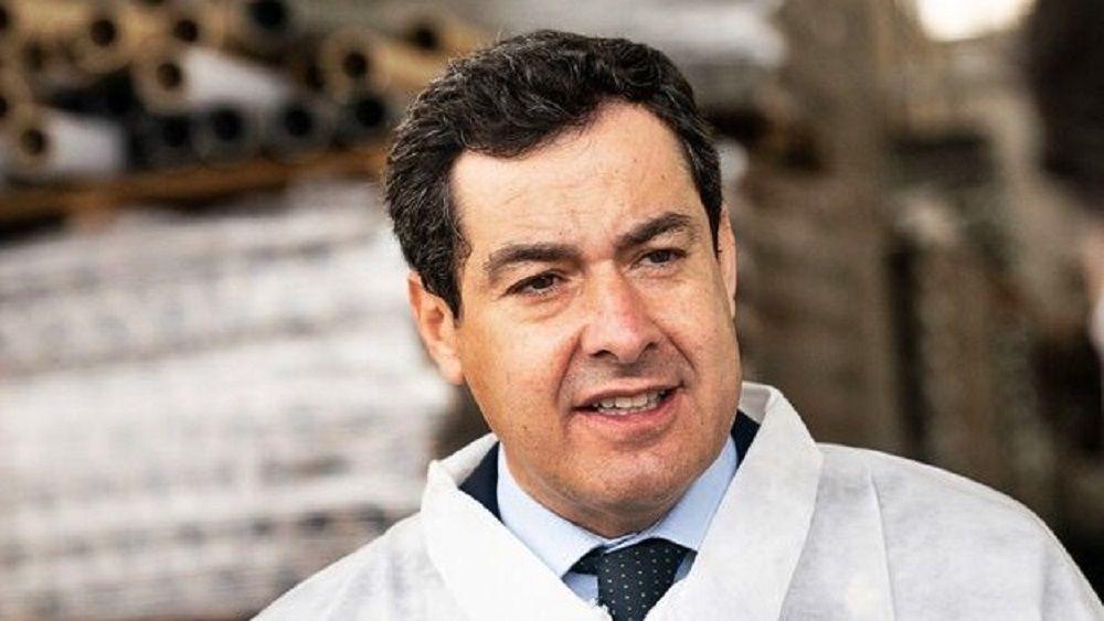 Juanma Moreno presidente de la Junta de Andalucía