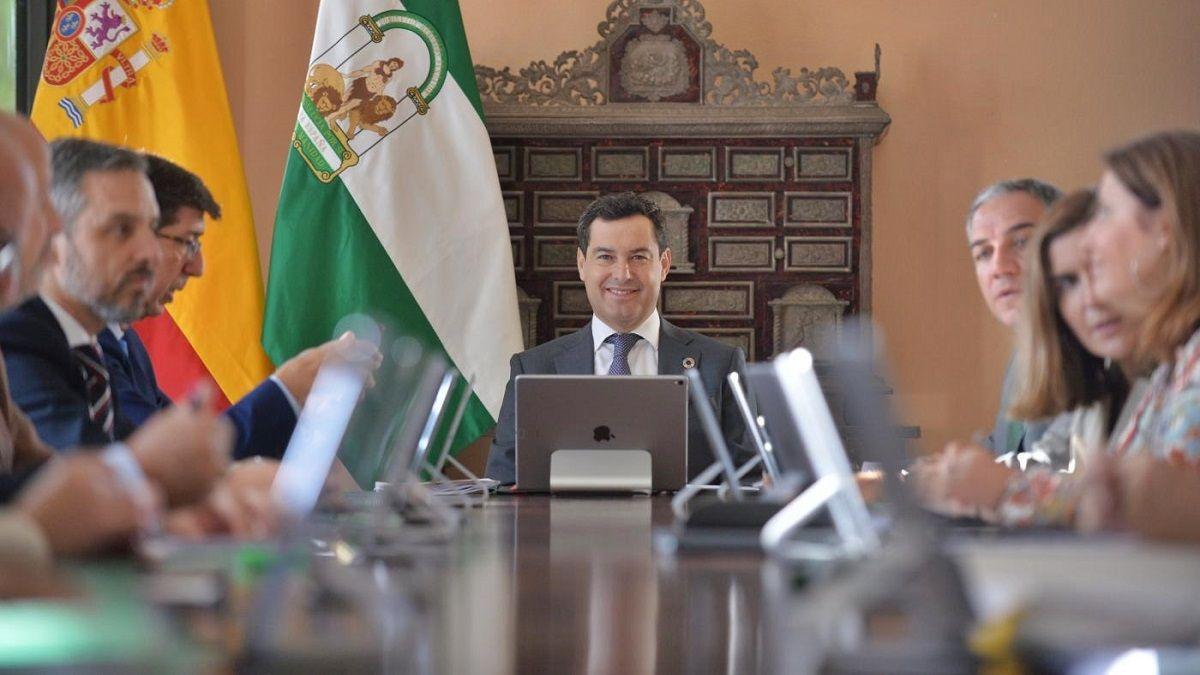 Juanma Moreno Gobierno de Andalucía
