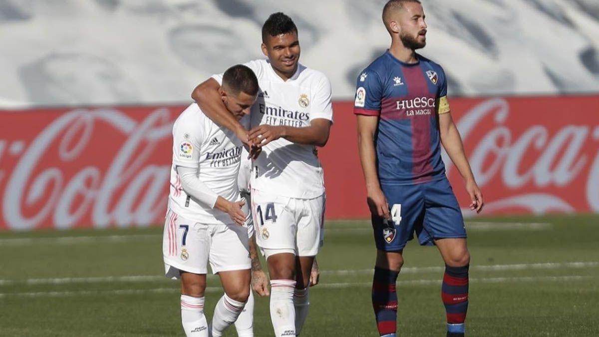 Hazard Casemiro Real Madrid Coronavirus