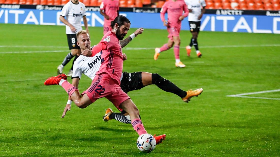 Valencia - Real Madrid - Isco