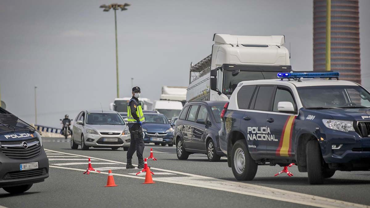 control policía Andalucía