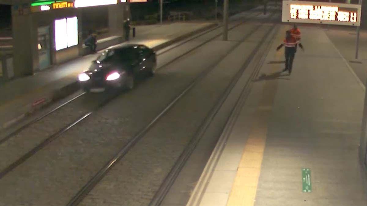 mujer conduciendo borracha Metro de Málaga