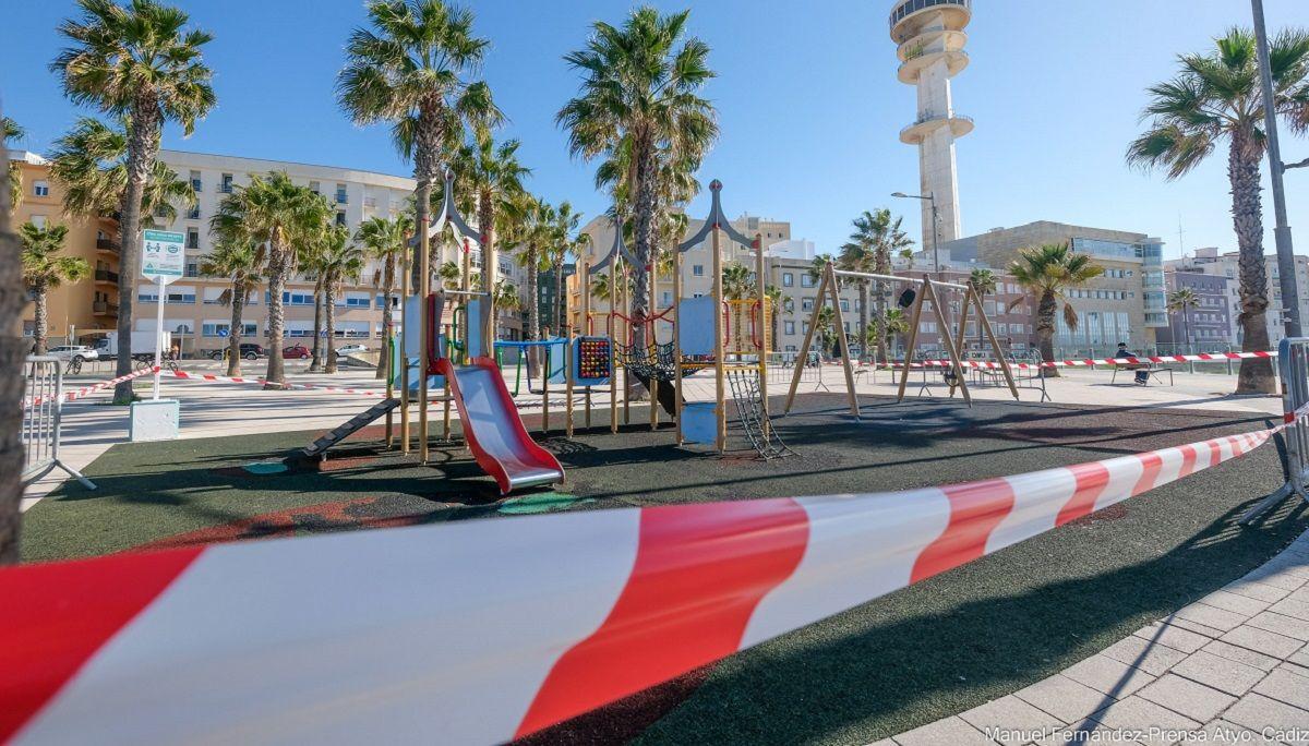 Cádiz juegos infantiles Coronavirus