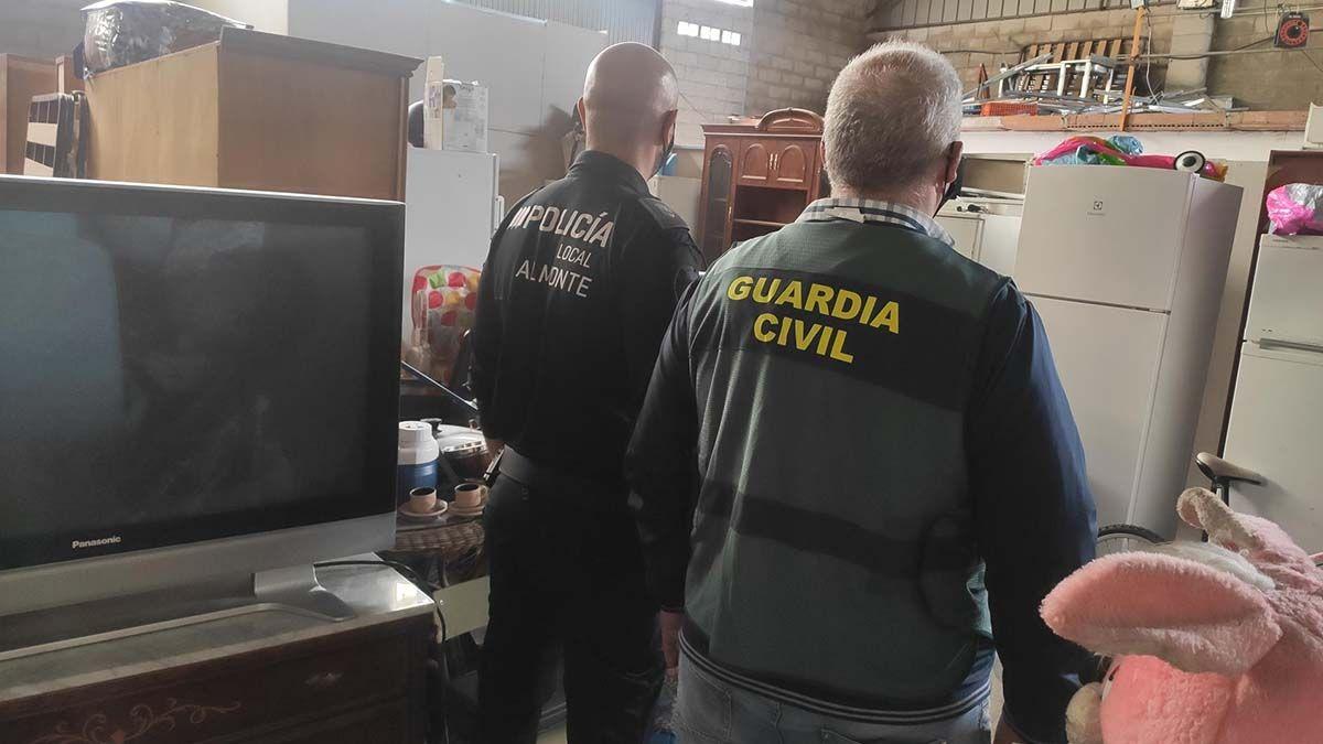 Objetos robados en El Rocío