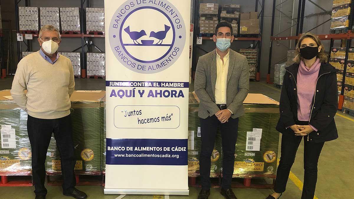 Donación Mercadona banco de alimentos