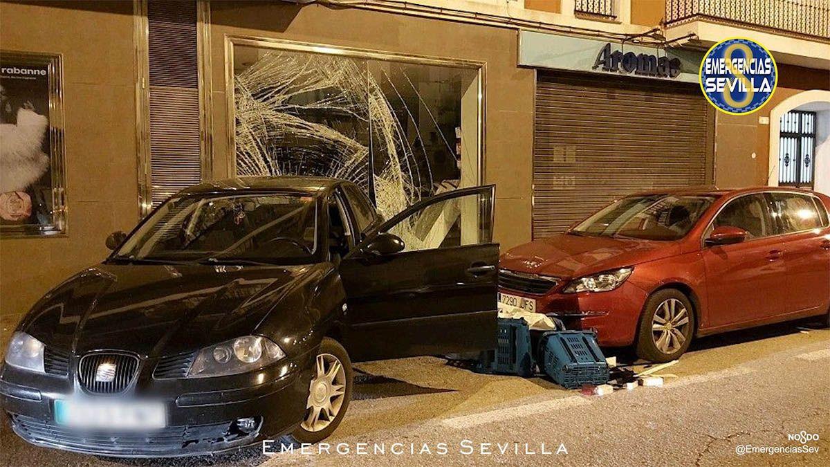 Persecución Sevilla Policía Local Robo Perfumería Aromas