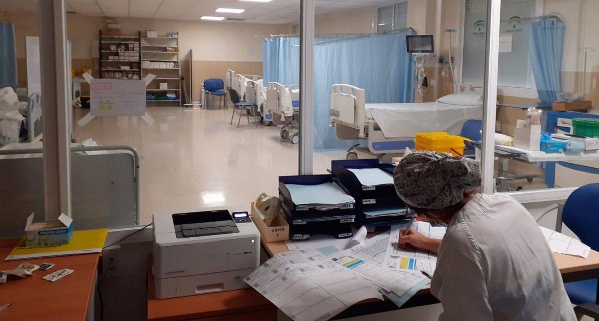 distritos sanitarios positivos Cádiz