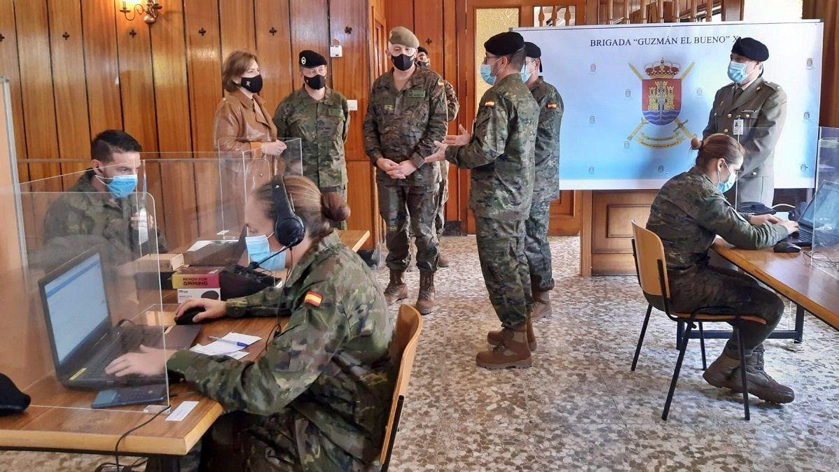 militares rastreo de Covid-19 Andalucía