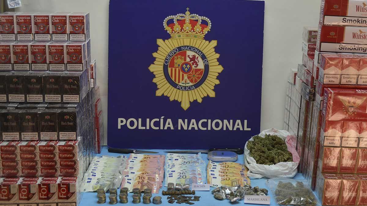 Droga, dinero, tabaco El Puerto