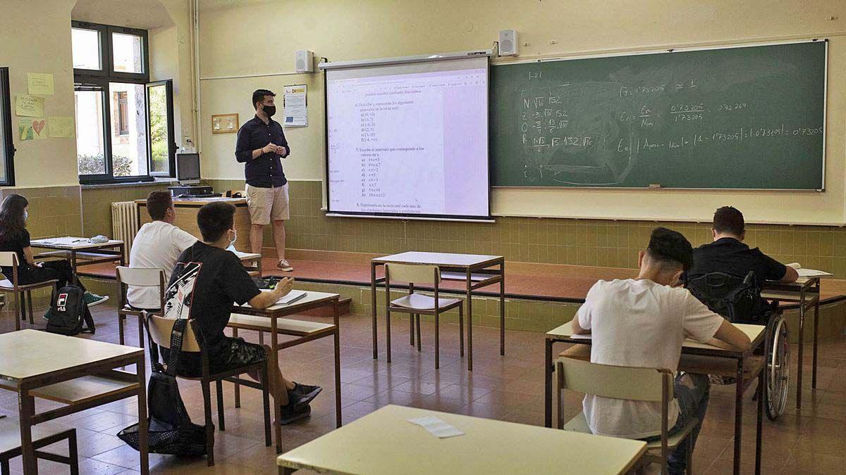 profesor colegio Andalucía