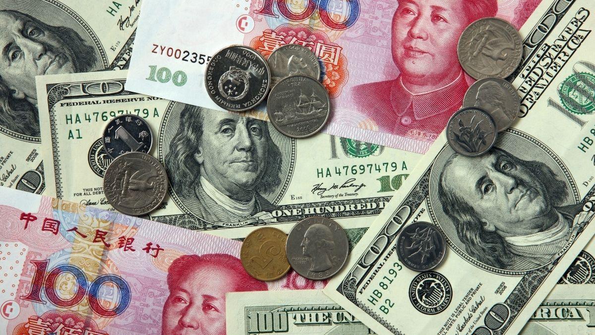 Tratado Libre Comercio Billetes China Estados Unidos Yenes Dólares