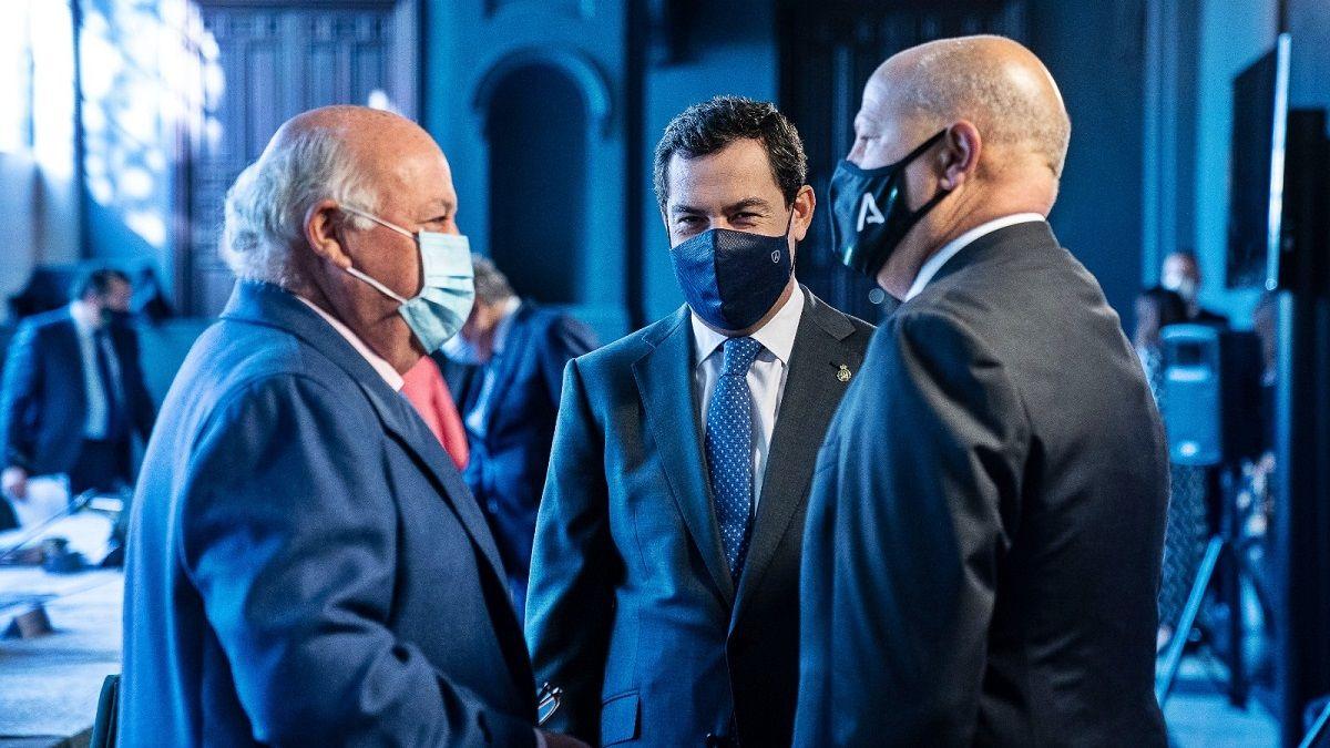 Jesús Aguirre confiado en la vacuna para los andaluces