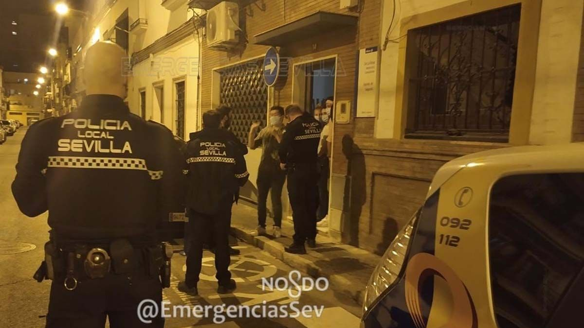 fiesta Policia Local Sevilla