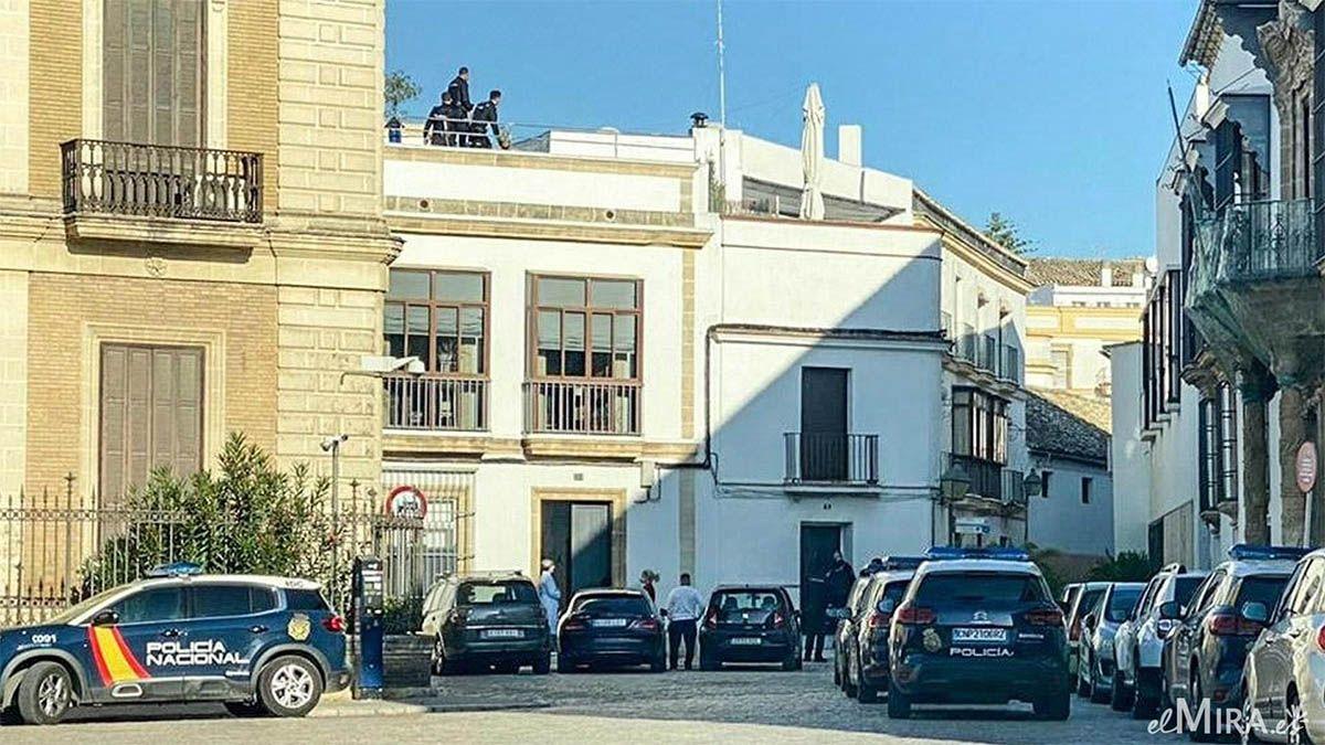 fiesta apartamento turistico Jerez plaza del arroyo