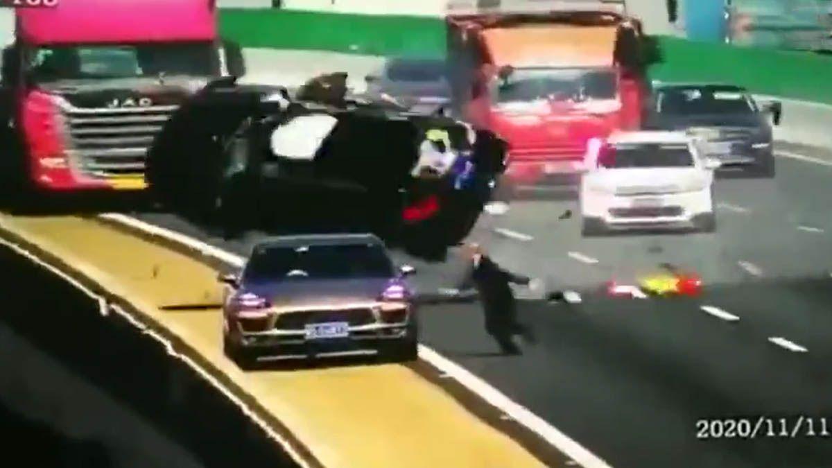 bridge car truck