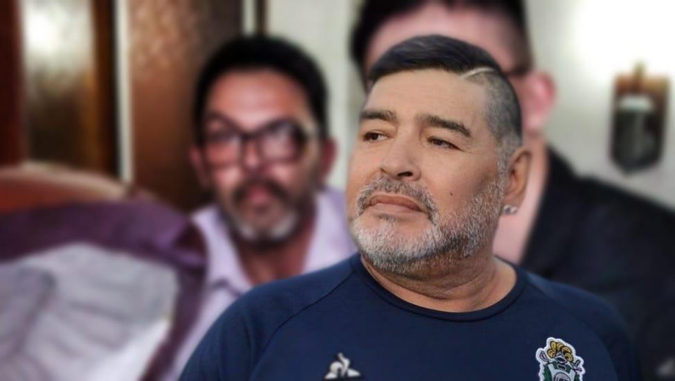 Diego Armando Maradona funeraria