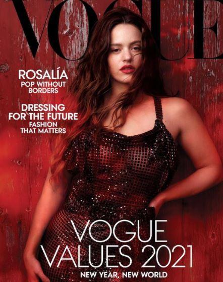 Rosalía en la portada de Vogue USA