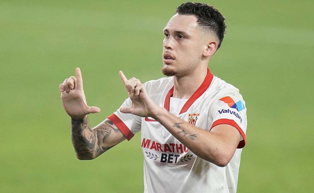 Sevilla FC Real Valladolid gol de Ocampos