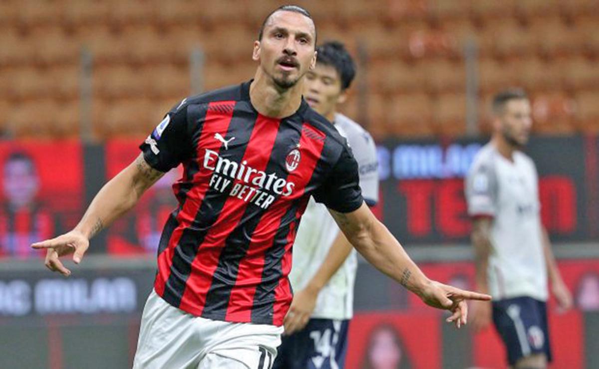 AC Milán Serie A Ibrahimovic